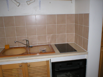 Entreprise de plomberie a l 39 eau johanna hag ge for Peindre une faience de cuisine